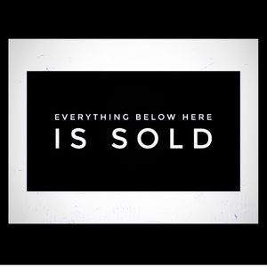 Other - Everything below here is sold